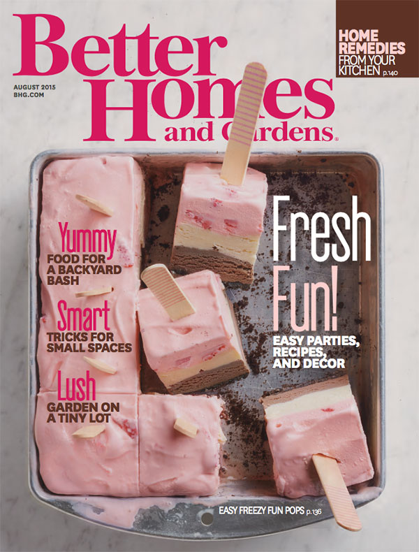 Better Homes and Gardens Cover